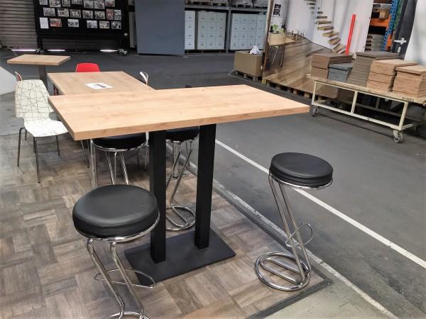 Tischplatte Longlife 90 x 160cm mit strukturierter Oberfläche Holz / Stein